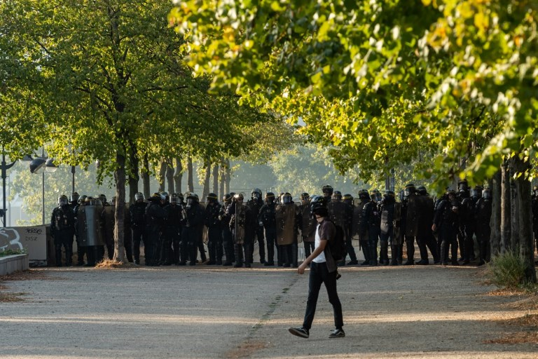 FRANCE - ANTI - GOVERNMENT - PROTEST