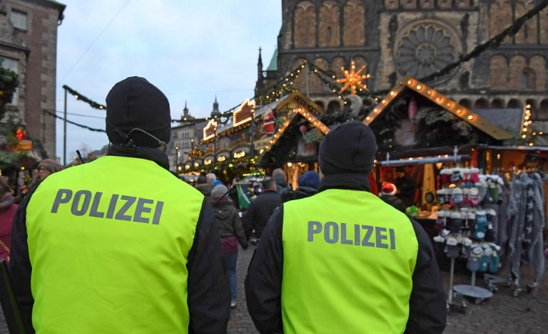 Security at Christmas Market in Bremen