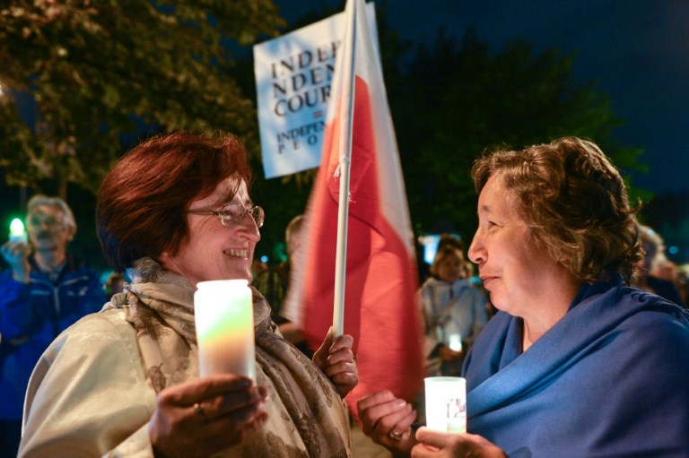 POLAND - JUSTICE - SYSTEM - PROTEST