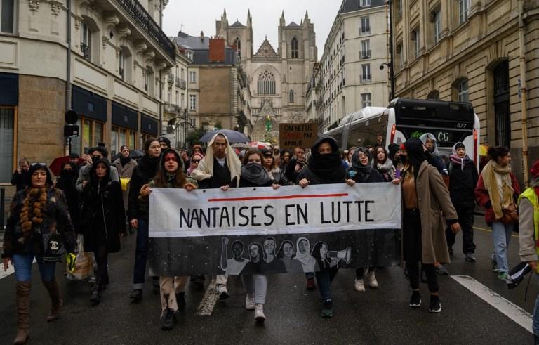 FRANCE - WOMEN - VIOLENCE - PROTEST